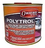 Owatrol Polytrol Renovador Rigenera L'Aspetto Della Plastica, Pietra, Marmo, Graniti,Vernici E Cromature Lt.0.5