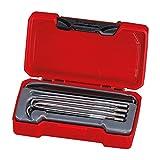Tengtools TM149 - Juego de 4 herramientas curvas con puntas, punzón, y...