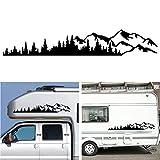 Desire Sky Autocollant universel en vinyle pour fenêtre de carrosserie de voiture pour camping-car, caravane,...