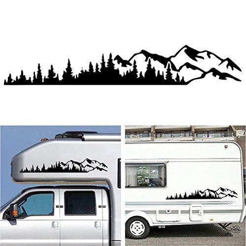 Desire Sky - Adhesivo de vinilo universal para ventana de coche, diseño gráfico para autocaravana, coche, camión