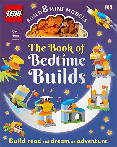 The LEGO Book of Bedtime Builds: With Bricks to Build 8 Mini Models