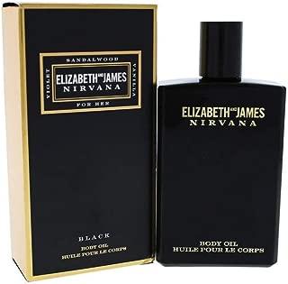 Elizabeth and James Nirvana Black Body Oil for Women, 3.4 Ounce