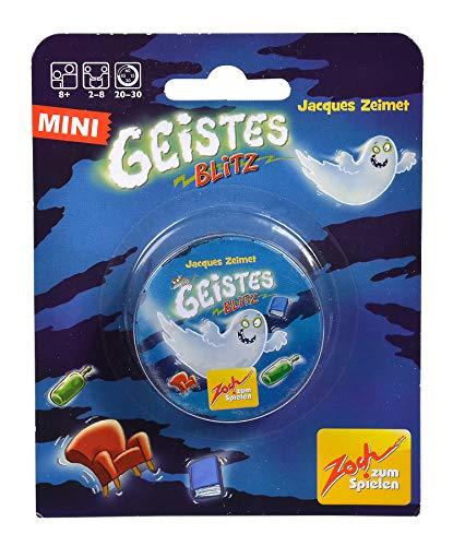 Zoch 601105140 Geistesblitz in der Metalldose, Reaktionsspiel im Mini Format, ab 8 Jahren
