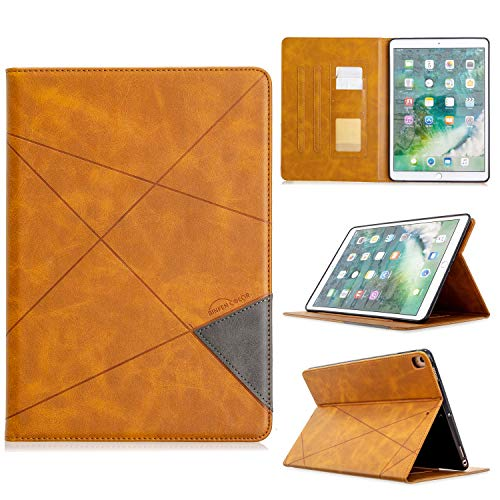 WANTONG Tablet PC Skin Case Cover Vertical Prismatic Tablet Case Suitable for IPAD PRO 10.2 10.5 2017/2019 Case. Advanced PU Leather Case With Automatic Wake-up/sleep Function [with Card Slot]
