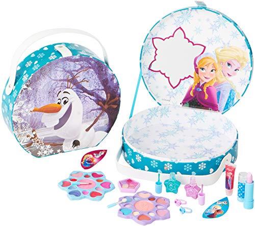 Disney Frozen Die Eiskönigin großer Schminkkoffer für Mädchen, 16teilig (Lipglos...