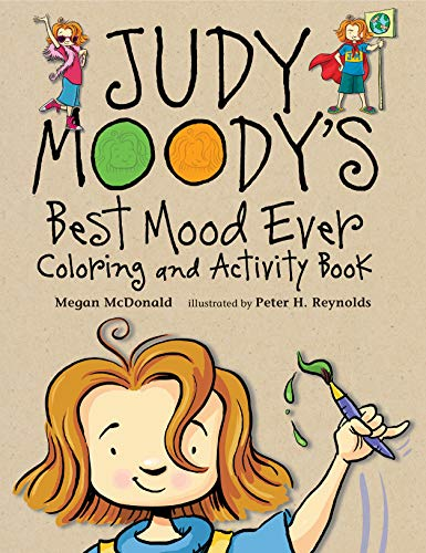Judy Moody's Best Mood Ever: Coloring and Activity Book