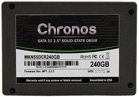Mushkin Chronos 240GB interne SSD-Festplatte SATA III