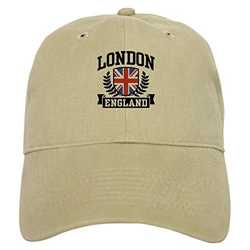 CafePress London England Baseball Cap with Adjustable...