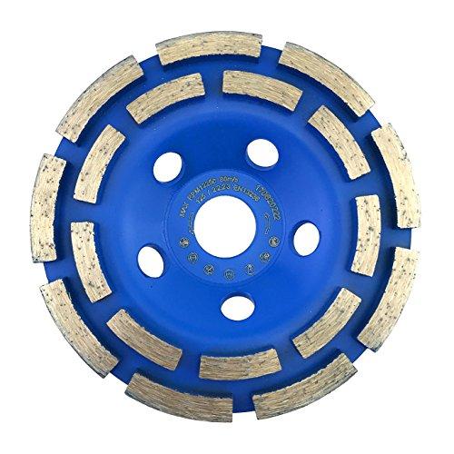 PRODIAMANT Diamant-Schleiftopf Standard 125 mm x 22,2 mm für Beton, Mauerwerk, Stein doppelreihig 125mm