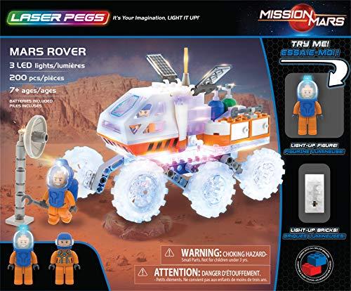 Laser Pegs 18002  Mars Rover Juguetes Multicolor