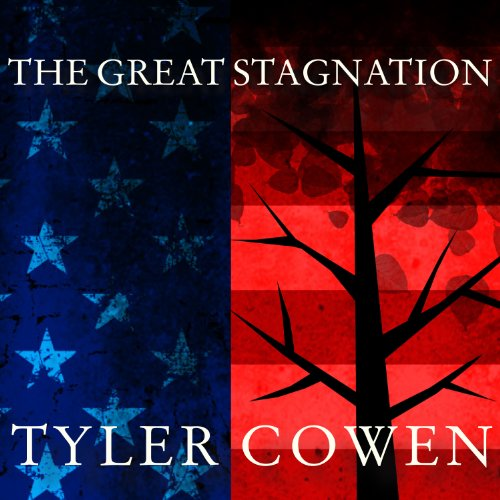 The Great Stagnation audiobook cover art