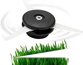 FashDog Trimmer Head for Stihl Polycut 20-3 Head Cutting Replacement 4002-710-2189, Strimmer Blade Replace 4111 007 1001(1 Head + 12 Blade)