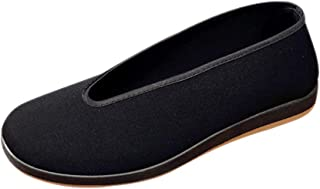 Kung Fu Shoes Men - Tai Chi Martial Arts Shoes Black Slippers Sport