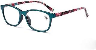 MTYJ Anti Blue Light leesbril Dames Mode blauw licht blokkeren Presbyopie Glazen for Computer -7.25 (Frame Color : Green, ...