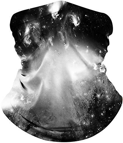 ALISISTER Multifunktionstuch Nahtloses Halstuch Schlauchtuch 3D Galaxy Bedruckte Kopftuch Stirnband Motorrad Bandana Outdoor UV Staubschutz Face Scarf für Staub,Wandern, Reiten, Motorradfahren