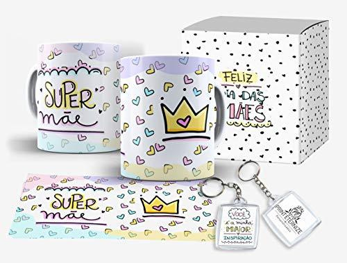 Caneca Personalizada Presente Dia das Mães Frase Caixinha + - Mod.13