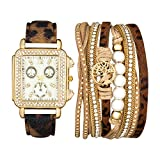 Rocawear Womens Quartz Analog Watch with Bangle Gift Set