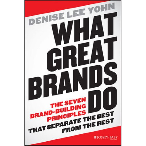 What Great Brands Do audiobook cover art