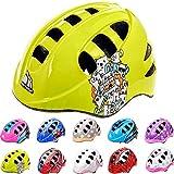 Casco Bicicleta Casco Biciclea Casco Bici Casco de Bicicleta para niños y jóvenes Casco MTB Carretera Ciclismo Skate Bicicleta patineta Patines monopatines MA-2 (S(48-52cm), Monsters)