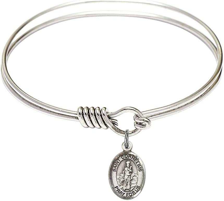 6 1 4 inch Round Minneapolis Mall Eye Max 86% OFF Hook C St. Cornelius with Bangle a Bracelet