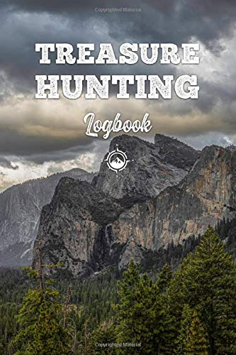 Treasure Hunting Log Book Journal Notebook Diary Planner - Forest and Mountains: Geo Hunt Record with 120 Pages In 6
