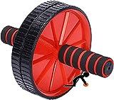 Equipo magnético de entrenamiento de bicicleta de ejercicio para interiores para ejercicio abdominal, rueda de ejercicio abdominal para entrenamiento de fuerza muscular, rueda de ejercicio abdominal d