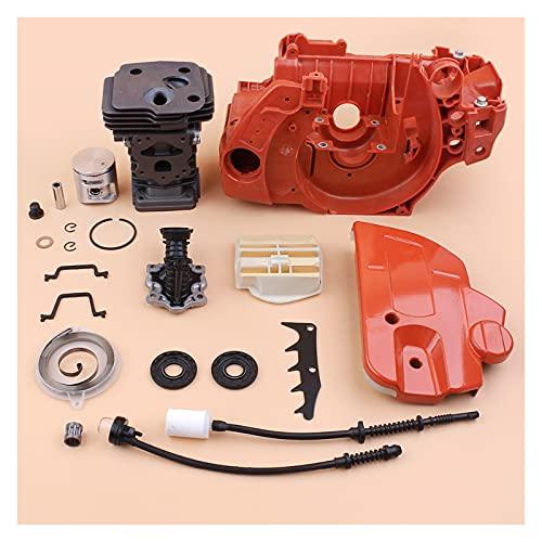 42mm cilindro del cilindro Freno de freno Sprocket Funda Juego de Motor de admisión Ajuste para H-U-SQVARNA 445 Sierra de gas Sierra Motos Motor Piezas de repuesto