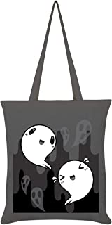 Happy Spooks Tote Bag Graphite Grey 38 x 42cm