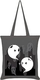Happy Spooks Tote Bag Graphite Grey 38 x 42cm