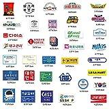 BLOUR 31 Uds Japón / 35 Uds Corea del Sur Tendencia Cultura Estilo Personalidad Moda Pegatinas para Maleta monopatín portátil Equipaje Pegatinas