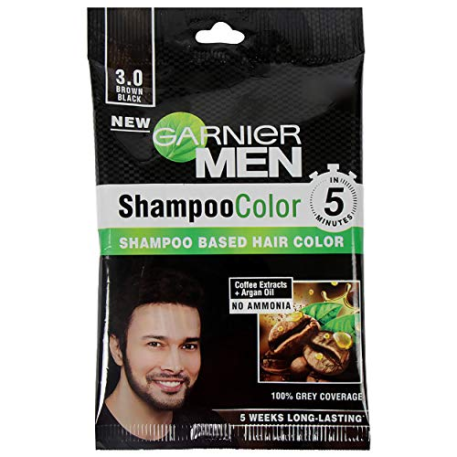 Garnier Garnier Men Shampoo Color Shade 3 Brown Black, 49 g