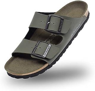 BOnova Schwanberg BOno-VEGAN. Kadınlar ve erkekler için vegan terlik, 4 renkte. Rahat ayak tabanı. İspanya'da üretilmiştir.