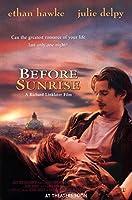 直輸入、小ポスター、米国版「ビフォア・サンライズ 恋人までの距離」イーサン・ホーク、ジュリー・デルピー、Before Sunrise