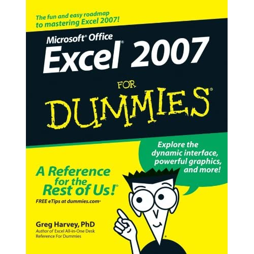 Microsoft Excel Guidebooks for Dummies: Amazon co uk