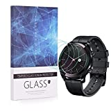 BECEMURU Huawei Watch GT Elegant Protector de Pantalla 9H Pantalla de Cobertura Completa Protector de Cristal Templado para Huawei Watch GT Elegant (Paquete de 3)