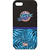 Skinit Pro Phone Case Compatible with iPhone 5/5s/5SE - Officially Licensed NBA Utah Jazz Retro Palms Design