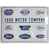 Targa in Metallo - Ford, Evoluzione del Logo