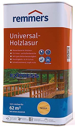 Remmers Aidol Universal Holzlasur auf Wasserbasis, Eiche Hell / 5 Liter