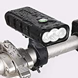 Bike Lights, Multifunction High Intensity LED Bicycle Headlight Lamp USB Changing Output 800LM...