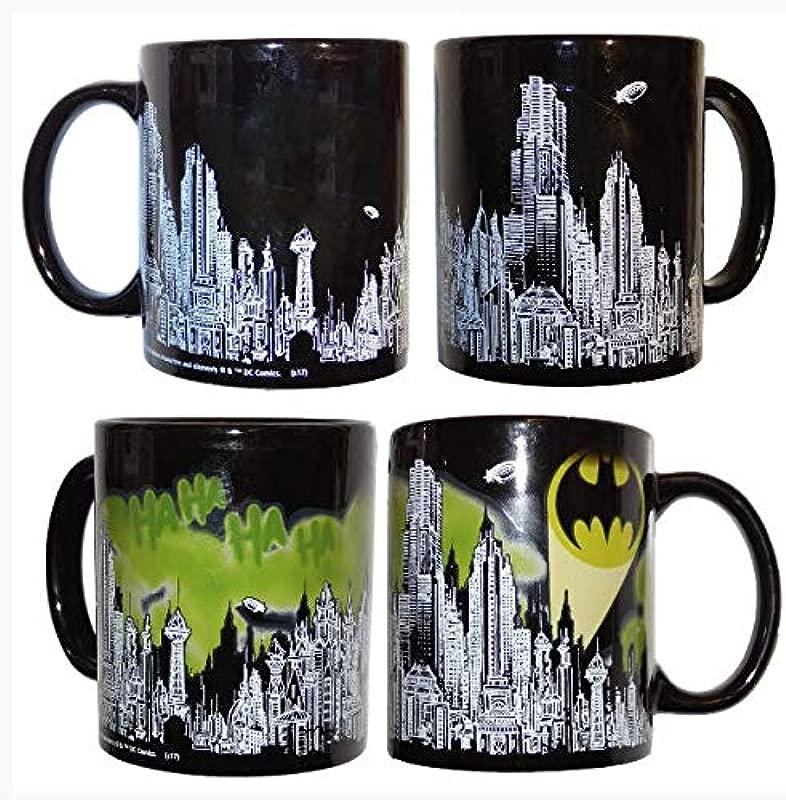Batman Skyline Color Changing Mug Loot Crate Exclusive