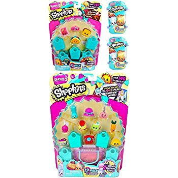 Shopkins Season 3 Bundle - 1 12pack, 1 5 Pack   Shopkin.Toys - Image 1