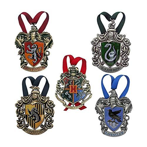 The Noble Collection Hogwarts Christmas Tree Adornos