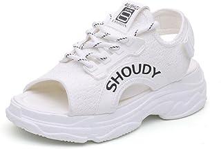 Para Zapatos Y Eqcxdowrb Chanclas Blanco Amazon Esbolsos Sandalias IY67gfymbv