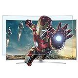 Film de protection d'écran anti-éblouissement TV, filtre anti-lumière bleue / anti-reflet / anti-UV pour soulager la fatigue oculaire et mieux dormir, pour écrans plats et incurvés,40inch(886*498mm)