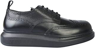 Alexander McQueen Luxury Fashion Mens 586200WHX531000 Black Lace-Up Shoes | Fall Winter 19