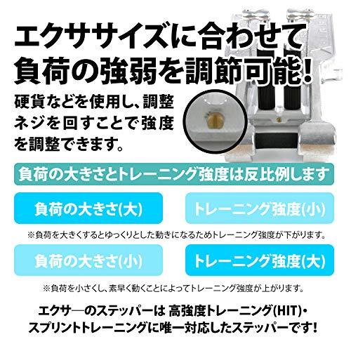 Xiser(エクサ―)ProTrainerプロステッパープロトレーナーWORLDACEオリジナルマット日本語説明書付5年間修理保証(ブラック)