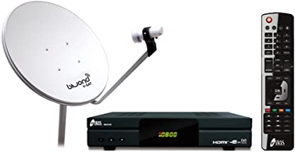 Pack Satélite 9800 HD + Ant.Parabólica 60cm + LNB + Soporte
