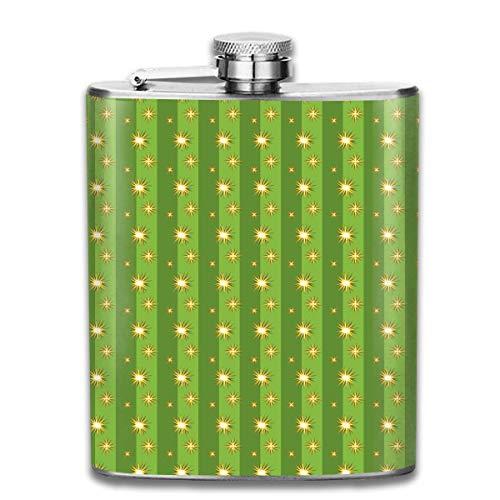 iuitt7rtree Sloths Autumn Stainless Steel Flask Classic 7OZ Hip Flask Pocket Flagon Whiskey Wine Flagon Mug