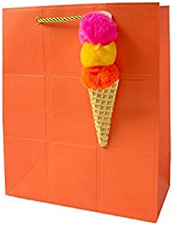 Dylan's Candy Bar Whirly Pop Gift Bags, 0, Orange