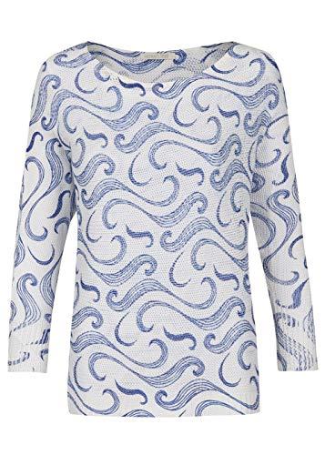 HEIMATLIEFDE Dames oversize gehaakte trui met patroon